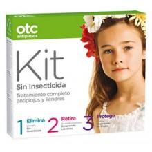 OTC Antipiojos Kit 123 sin Insecticida